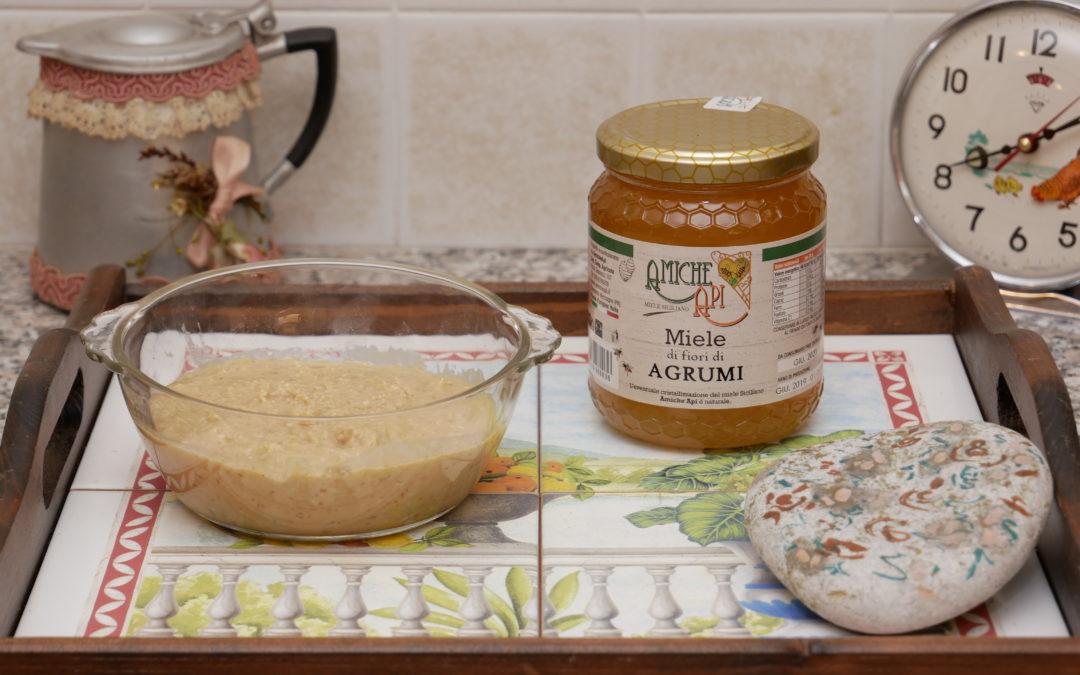 Burro d'Arachidi con Miele